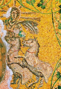 The sun god Helios under St. Peter's in Rome. Scala/Art Resource, NY